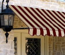 Colored Stripe Outdoor Awning Acrylic Fabric
