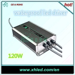 IP67 waterproof dimmable led driver ODM / OEM be supported constant current dimmable 120W led driver
