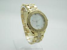 luxury diamond wrist quartz lady watch rose gold diamond case ladies gold bangle friendship bracelet watch sale crystal fashion