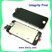 Brand new low price for iphone 5 display digitizer Assembly black and white paypal is accepted