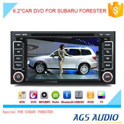din car radios with navigation china/GPS tracker/reversing camera for SUBARU FORESTER
