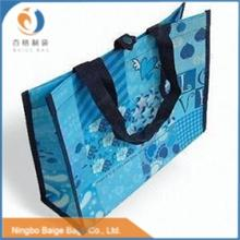 promotional recycling folding hanging file clear plastic tote bags with handles