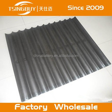 Non-stick Corrugated aluminum 4-12 ducts curved long bread tray wholesale