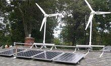 effsun 300w residencial las turbinas de viento para el hogar de la aplicación