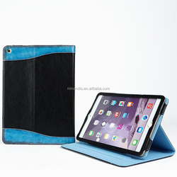 Chinese factory rotating stand leather case for ipad