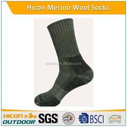New design Hiking socks 100% merino wool sock