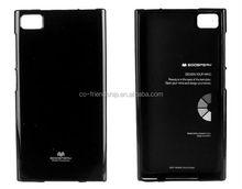 case for Blackberry Z3,mercury goospery jelly tpu gel cover
