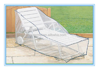 transparent PE film outdoor furniture covers, sun lounger covers Made in China