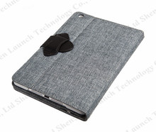2014 most fashionable keyboard leather case for iPad mini