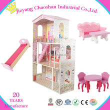 Prefabricated Wooden House Wooden Doll House Accessories Hot Fun House