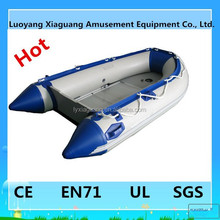 CE Korea PVC material 8 person use rigid hull inflatable boat
