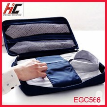 Hot selling newest anti wrinkle t shirt bag business Travel mesh pouch tie tote case