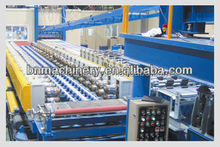 automatic continuous PU FOAMING roller forming making machine