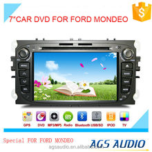 7 inch car dvd gps navigation for FORD MONDEO system with TV/Bluetooth/iPod/RDS/mp3/radio