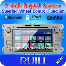 Newest car dvd ford focus with gps bluetooth