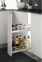 Hettich slider modern Iron narrow basket kitchen hardware
