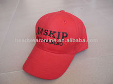 golf red cap and hat for women or men