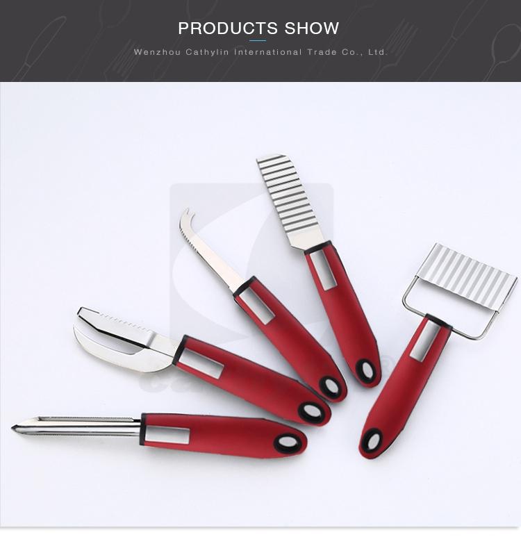 Promoções cortadores de aço inoxidável ferramenta da cozinha cebola vegetal
