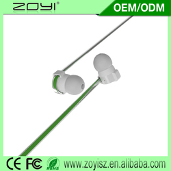 New product 2015 oem quality fashion earphone with fast delivery
