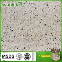 Granite effect water-basic exterior building paint spray