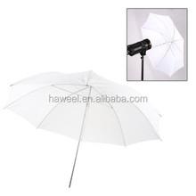 33 inch Flash Light Soft Diffuser White Umbrella(White)