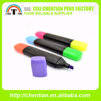 Newest Double Ended Mixed Colors Highlighter Marker Pen