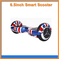 Two wheels self balancing 6.5inch flag scooter with cabin