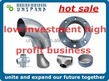 china steel pipe fitting and flange low invest high profit business