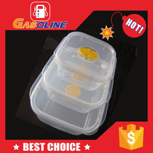 Reusable recyclable small plastic containers for office