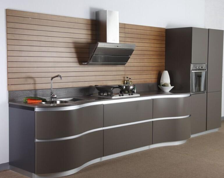 2017 pvc gabinete de la cocina moderna con buena calidad de ...