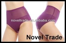 Wholesale Bamboo Fiber High Waist Slimming Women's Panties