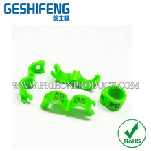 hot sell 3mm canary bird foot rings,plastic open bird band,