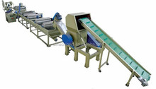 Auto Plastic PP/PE Film Crushing, Washing and Drying Machine