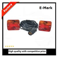 trailer connector auto lamp tail light E-MARK E11 12V JH101-A