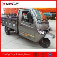Hot Sale High Quality OEM Shineray Covered Motorized Enclosed Tricycles Closed Cars