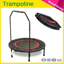 Wholesale Round indoor cheap gymnastic Bungee Fitness Adult Mini Folding Trampoline