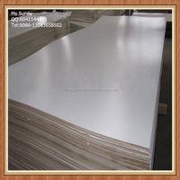 White melamine cheap hardboard sheets