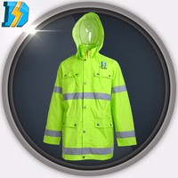 Flame Retardant Fire with hHigh Quality Pu Coated Nylon Waterproof Fabric For Raincoat