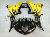 for yamaha yzf r6 2003 bodykit 2003 2004 2005 yzf r6 03 04 05 r6 fairing kit r6 05 r6 race fairings 03 05 yzf r6 yellow black