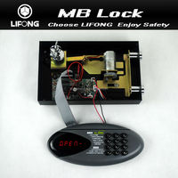 2015 hotel lock system,hotel product electronic digital locks for locker with motorized system-Model MB