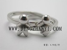 cute child 925 sterling silver ring