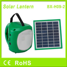 energy saving cheap solar lantern with mobile phone charger