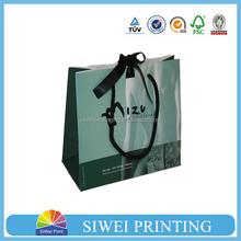 2015 Custom Decorative Mini Cardboard valentines garment packing paper bag seller