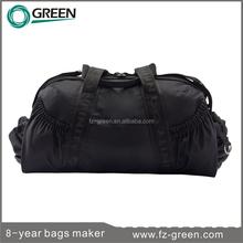 Black fashion sport travel bag manufacturer