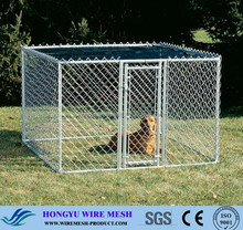cheap chain link dog kennels / used chain link fence prices