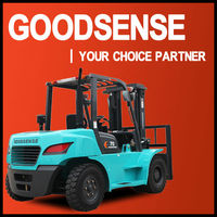 7.0T Diesel Forklift Truck with Japanese Engine