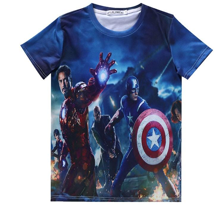cartoon design t-shirt