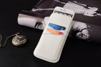White Protective pouch case, slim pouch cover, high quality PU