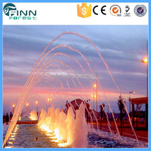 Indian Outdoor Water Laminar Jet Party Drinking Fountain with LED Light