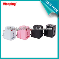 2014 hot selling new promotional gift ideas from wonplug patent products universal travel adapter